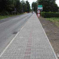 Chodnik wzdłuż ulicy Cieszyńskiej gotowy!