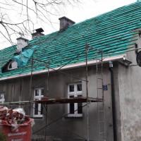 Remont dachu budynku mieszkalnego przy ul. Sznelowiec