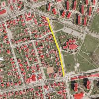 Przebudowa chodnika wzdłuż ul. Skłodowskiej-Curie w 2017
