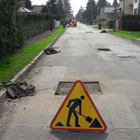 Bieżące utrzymanie dróg na osiedlu