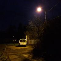 Nowe oświetlenie przy ul. Kosmonautów