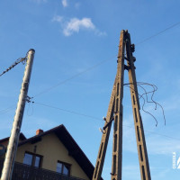 Przebudowa ul. Słonecznej - wymiana infrastruktury energetycznej