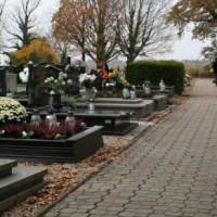 Miejsc na cmentarzach w Pszczynie coraz mniej