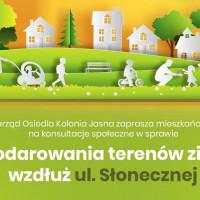 Zielona Kolonia Jasna - konsultacje społeczne